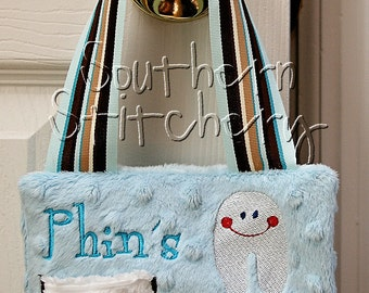 Tooth Fairy Pillow for Boys Personalized Great Gift