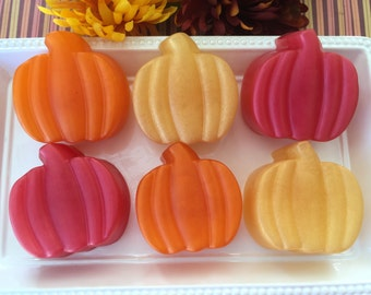 Pumpkin Soap - Fall Pumpkin Soap - Sweet Cinnamon Pumpkin Soap - Halloween Soap - Halloween Gift - Halloween Favor - Fall Soap