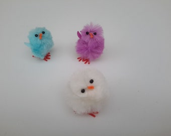 Set of 3 for creating and decorating Easter chicks