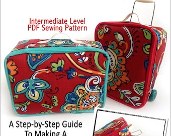 Pixie Faire Miche Designs Luggage Set Doll Clothes Pattern for 18 inch American Girl Dolls - PDF