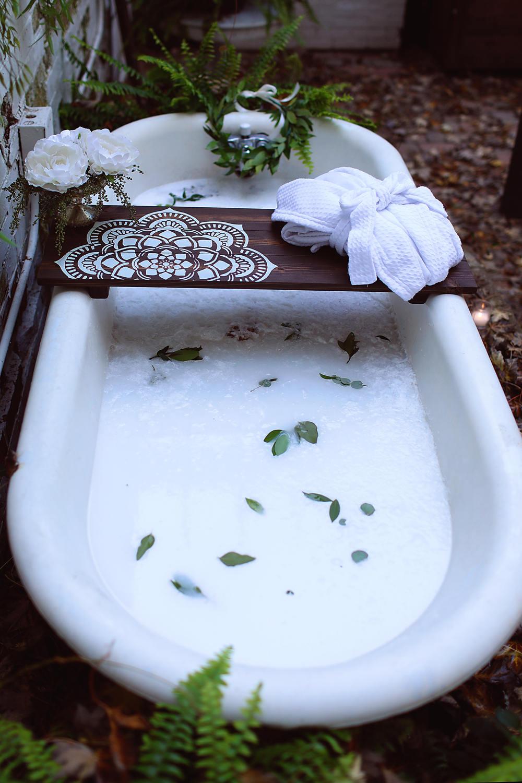 Bath Caddy | Flower Mandala | Mandala Caddy | CUSTOMIZE BATH Caddy ...