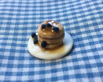 Miniature Blueberry Pancakes
