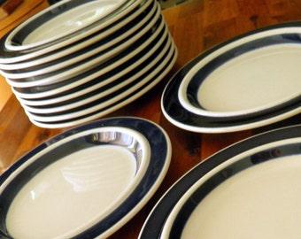 """12 Available -- Arabia Finland """"Anenome"""" Salad Plates -- 1960 Ulla Procope Design -- 8"""" Diameter -- GREAT Condition"""