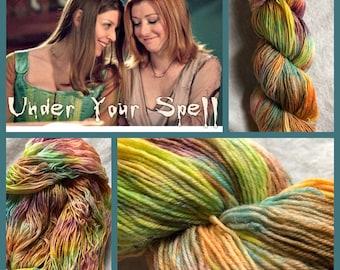 Under Your Spell Handpainted Sock Yarn
