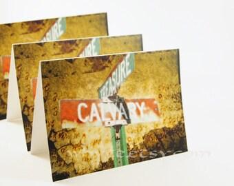 Digital Art Calvary Original photo Set of 8 Blank Notecards with Envelopes
