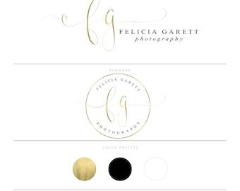 Heart Logo Gold Logo Photography Logo Calligraphy Logo Watermark Lash Logo Doula Logo Microblading Logo Eyelash Logo Realtor Logo Design