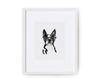 Assorted Dogs Print Set