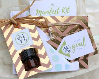 Pearl & Amethyst Necklace Manifest Kit