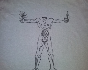 Acéphale (Georges Bataille, Andre Masson) t-shirt