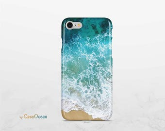 OCEAN phone case, iPhone X case iPhone 7 case iPhone Plus phone cover iPhone SE 5 5s case / Galaxy S9 case Galaxy Note8 case Galaxy S8 case