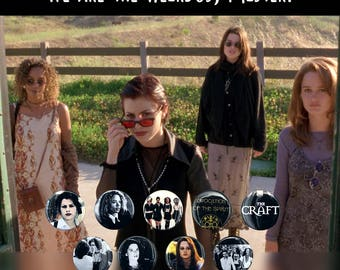 """The Craft Cult Classic - 1.5"""" Button Collection!"""