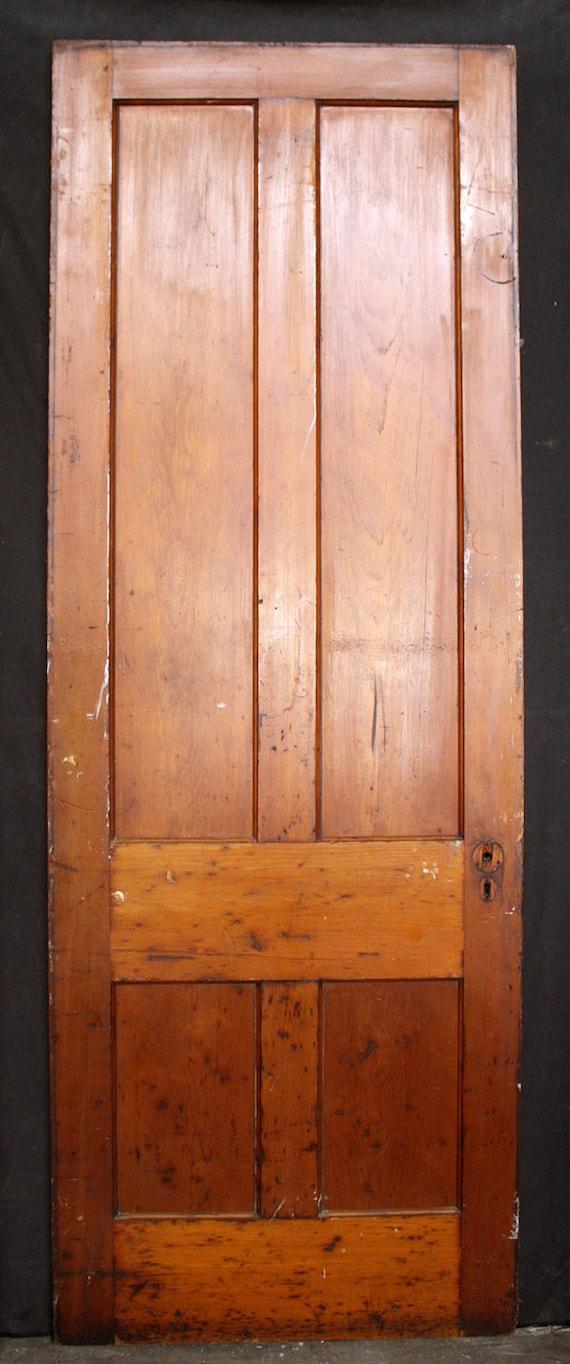 32x89 antique vintage victorian solid wood wooden interior door 4 32x89 antique vintage victorian solid wood wooden interior door 4 raised panel from pennantiquerestore on etsy studio planetlyrics Images