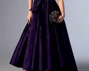 Taffeta Maxi Skirt-Made-to-Measure -Maxi Skirt-Classic Style Skirt