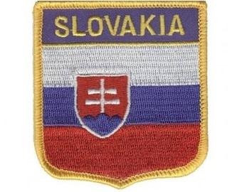 Slovakia Patch (Iron on)