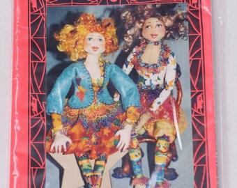 """Radical Rachel 18"""" Doll Pattern - Patti Medaris Culea"""