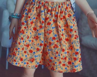 Yellow Ruffle Skirt