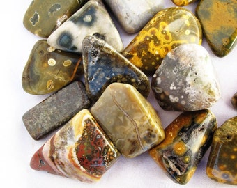 High quality Ocean Jasper.  All pieces hand picked !