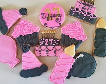 Birthday cookies  (12)