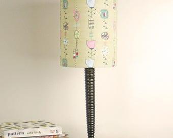 Atomic 1950s handmade stand lampshade