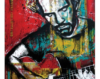 J.J. Cale - I Got the Same Old Blues - 12 x 18 High Quality Art Print