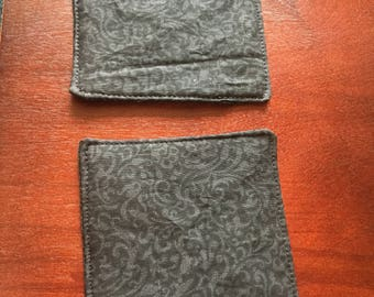 Paisley Fabric Coasters