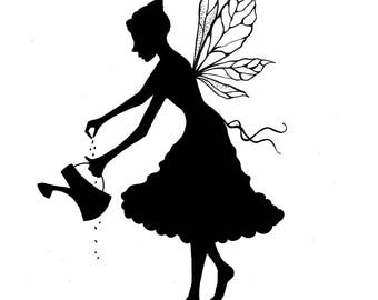 Lavinia Stamps Clear Rubber Stamp - Melody Silhouette