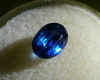 AAA Natural Cobalt blue Oval Faceted Kyanite Gemstone