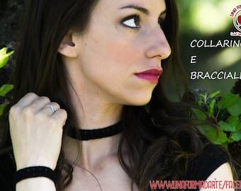 Collar bracelet Ring