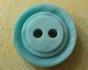 10 buttons 13mm Turquoise (4482) button