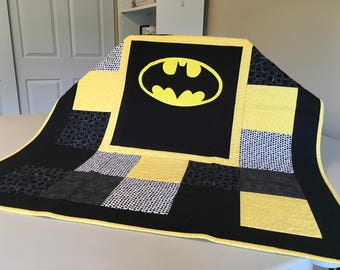 Batman Baby Quilt