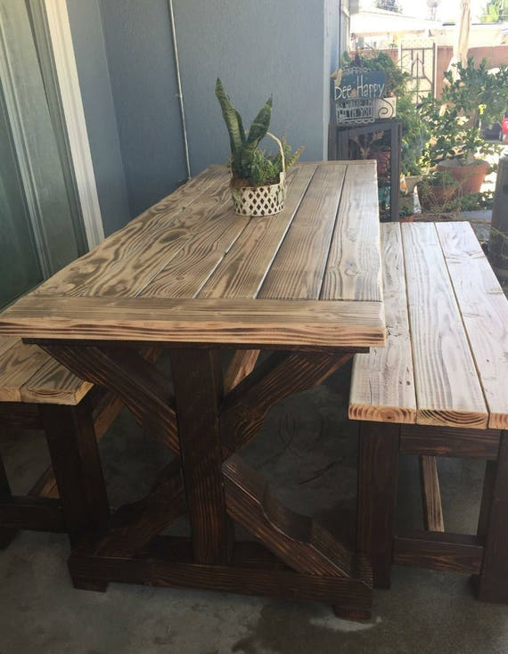 Rustic Patio Table Rustic Dining Table Rustic Table