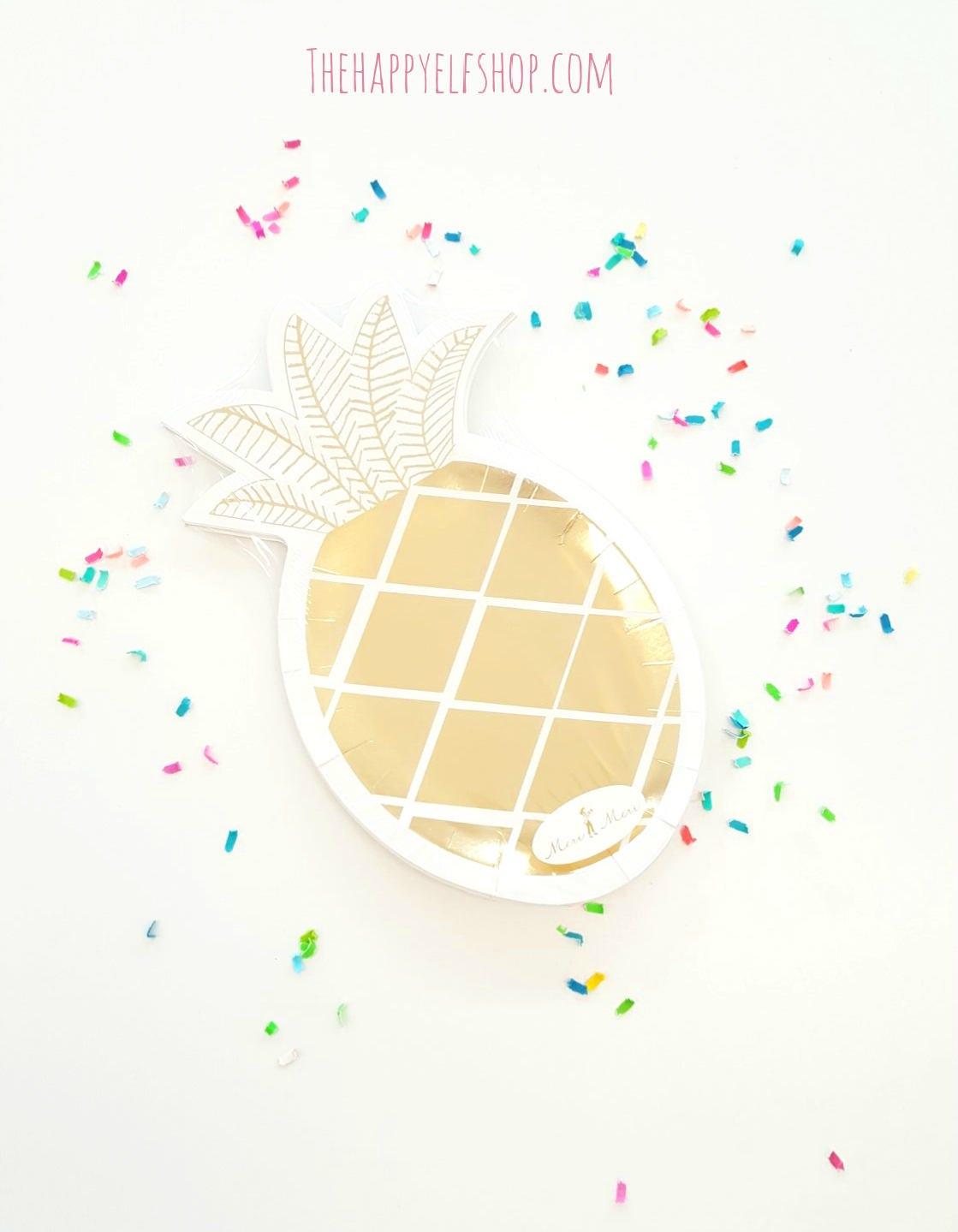 Meri Meri pineapple paper plates (12). pineapple party supplies. pineapple party plates. flamingo plates. party like a pineapple. pineapple  sc 1 st  thehappyelfshop & Meri Meri pineapple paper plates (12). pineapple party supplies ...
