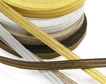 KNOX Double Stripe Military Bullion Braid Trim: 5 Yards or 27 Yard Roll