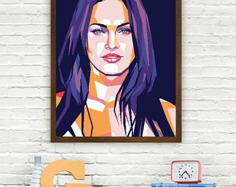 Megan Fox Limited Artwork