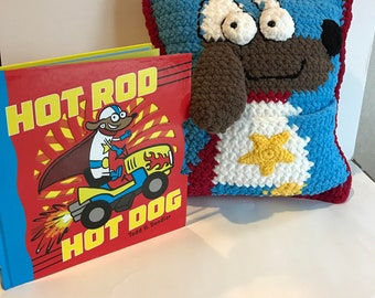 Hot Rod Hotdog and Matching Book