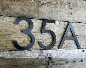 custom signs plaques modern address numbers by timberartsigns. Black Bedroom Furniture Sets. Home Design Ideas