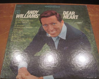 Andy Williams Dear Heart LP Sealed 1965