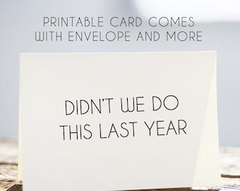 printable birthday card for mom, funny birthday card, bday card for mom, mothers birthday card, printable mom card