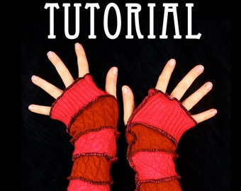 Arm Warmer Tutorial - DIY guide by Katwise