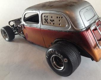 Scale Model Car,Rat Rod,Ford,Junker Car