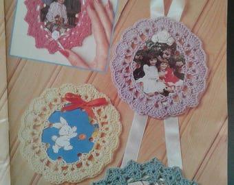 Pdf 1993 greeting cards crochet frame patterns, crochet frame patterns,