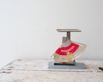 Vintage Mail Meter Scale Vintage Scale Mail Scale