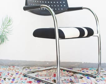 LOCAL PICKUP ONLY Vitra Visavis Cantilever Chair Pendleton