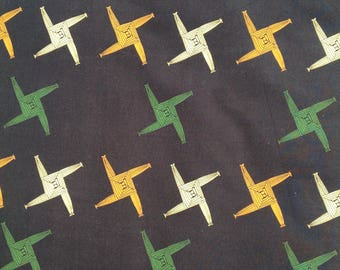 St Brigid's cross fabric