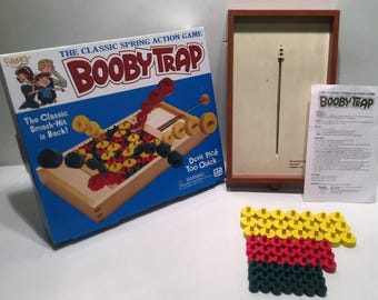 Ideal Toys Booby Trap Classic Game in Great Condition and Complete FREE SHIPPING