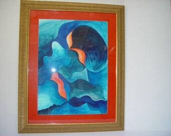 Acrylic The Deep Blue Sea