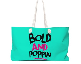 Bold And Poppin Oversized Weekend Tote