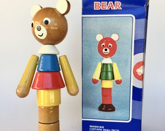 60's Vintage Stacking Toy