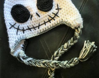 Jack Skellington Baby Hat