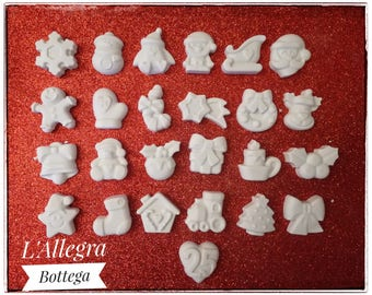 25 Chalk for Advent calendar